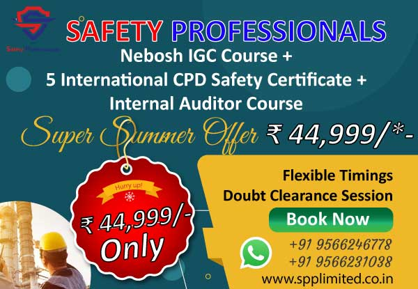 Nebosh Safety Course in Chennai